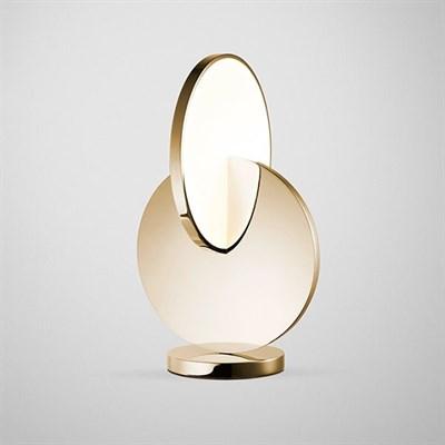 Настольная лампа Eclipse Light Gold - фото 29836