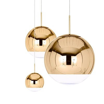 Люстра Mirror Ball Gold IV D15/25/40 - фото 29969