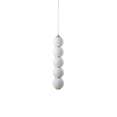 Светильник подвесной Pearls E Gold - фото 30596