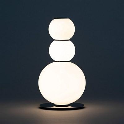 Лампа настольная Pearls D латунь - фото 30616