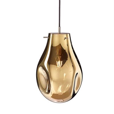 Светильник подвесной Soap A золотой - фото 31290