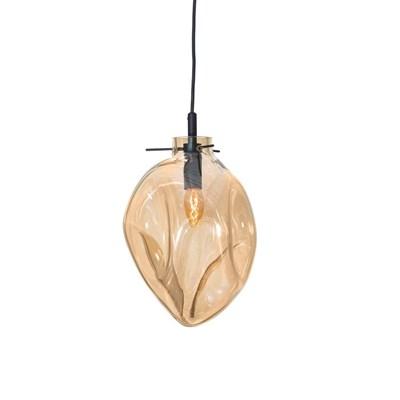 Светильник подвесной Soap B янтарный - фото 31311