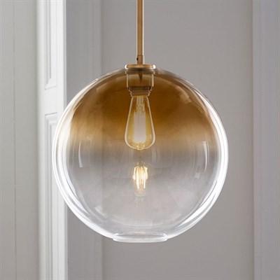 Светильник подвесной Passage D20 gold - фото 31485