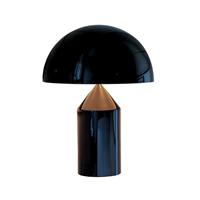 Настольная лампа Atollo Black D50 by Oluce