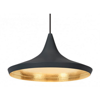 Светильник Beat Light Wide  Tom Dixon Black