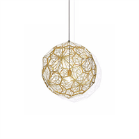 Светильник Etch Web Gold by Tom Dixon D30
