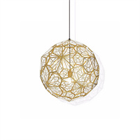Светильник Etch Web Gold by Tom Dixon D40