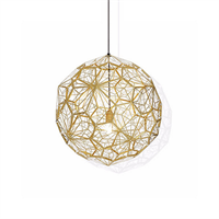 Светильник Etch Web Gold by Tom Dixon D60