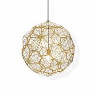 Светильник Etch Web Gold by Tom Dixon D80
