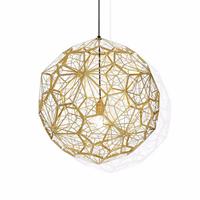 Светильник Etch Web Gold by Tom Dixon D100