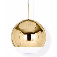 Светильник Mirror Ball Gold by Tom Dixon D35