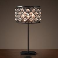 Настольная лампа лофт с кристалами Spencer Table Lamp