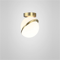 Crescent Ceiling Light  by Lee Broоm золото