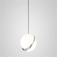 Crescent Light by Lee Broоm  D30 Chrome