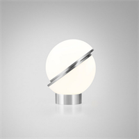Crescent Table Lamp by Lee Broоm Chrome