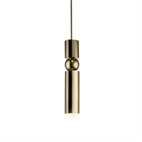 Fulcrum Light by Lee Broоm Gold