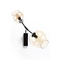 Светильник настенный Branching Bubbles 2 плафона черный