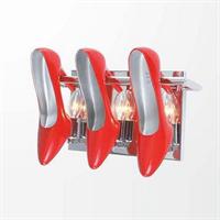 Бра в виде красных туфель Cristal Lux Tiffany AP3 Rosso