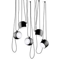 Светильник подвесной Flos Aim 5 Black by Ronan & Erwan Bouroullec