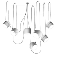 Светильник подвесной Flos Aim 7 White by Ronan & Erwan Bouroullec