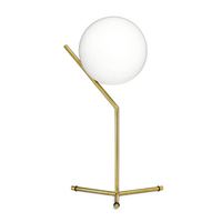 IC Lighting Flos Table 1 High Gold by Michael Anastassiades настольная лампа