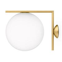 IC Lighting Flos Wall 2 Gold  светильник настенно-потолочный
