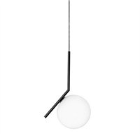 Светильник Flos IC Lighting S Black Pendant Lamp by Michael Anastassiades