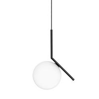 Светильник Flos IC Lighting S2 Black Pendant Lamp by Michael Anastassiades