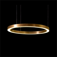 Henge Light Ring Horizontal D80 Copper