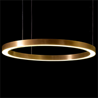 Люстра Henge Light Ring Horizontal D90 Copper