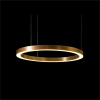 Модный светильник Henge Light Ring Horizontal D60 Copper
