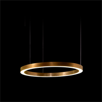 Круглая люстра Henge Light Ring Horizontal D50 Copper