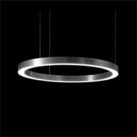 Henge Light Ring Horizontal D70 никель