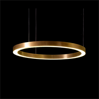 Henge Light Ring Horizontal D70 Copper