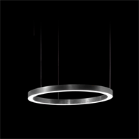 Henge Light Ring Horizontal D50 Nickel