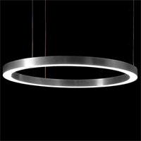 Henge Light Ring Horizontal D100 Nickel