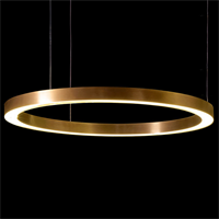 Henge Light Ring Horizontal D100 Copper