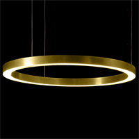 Henge Light Ring Horizontal D100 латунь