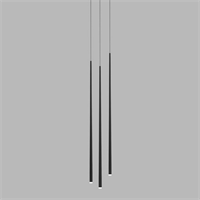 Люстра Vibia Slim 3 Black by Jordi Vilardell