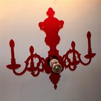 Настенный светильник красный Ligne Roset
