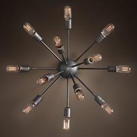 Светильник настенный Loft Sputnik Chandelier 50 12