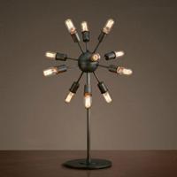 Лампа настольная лофт  Industrial Sputnik Table Lamp