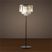 Торшер в стиле лофт Odeon Clear Glass Floor Lamp