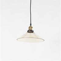 Светильник подвесной лофт Clear Glass Lamp дымчатый