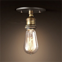 Светильник лофт состаренная бронза 2005-X1