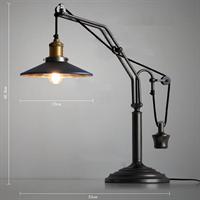 Лампа настольная лофт с противовесом Industrial Table Lamp