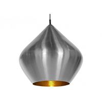 Светильник Beat Light Stout by Tom Dixon никель в виде чалмы