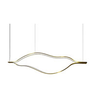 Светильник  Tape Light L140 Brass в стиле Henge