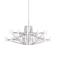Люстра Coppelia Small 2 D68 Nickel в стиле Moooi