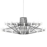 Люстра Coppelia Small D100 Black в стиле Moooi